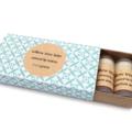 Natural Lip Balms, Set of 5 Mini Tubes