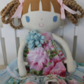 Ruby & Belle  -  Lilly - Handmade Doll