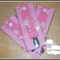 Dummy Chums - Fabric strap with clip & press stud.