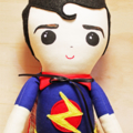 Original Handmade Superhero Doll
