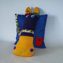 3D Sculptured Horse Cushion