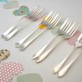 Choose your stamping - Hand stamped vintage cake forks