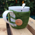 Custom order for Joanne. 7 x Bamboo mug sweater / cosy