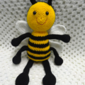Crocheted Bee - Buzzy the Bee