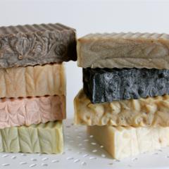 Vegetable Soap: Choose 4 Natural Palm Oil Free. Cold Processed. Vegan Soap
