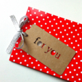 FOR YOU gift tags. Original design, hanging tags. Rustic Christmas, gift wrap.