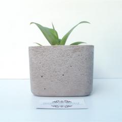 X-Large Concrete Succulent Planter - Urban Decor
