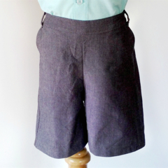 Boys Chino Shorts, Dress Pants, Size 3, Grey
