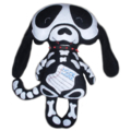 Skelly Dog (skeleton softie)