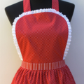 Hot Chilli Nights ladies traditional apron