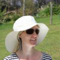 Ladies Natural Floppy Sunhat Size Medium 56cm