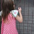 Pink and blue Tilda peasant dress - size 00