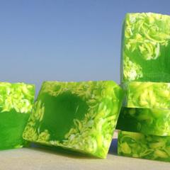 Aloe Vera Bar - Aloe Soap - Luxury Soap with Argan oil