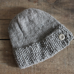Acorn - Childs Knitted Wool Hat Beanie