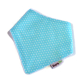 Dribble Bandanna Bib Bamboo blue pin dots, blue, baby, toddler