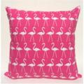 Candy Pink Flamingo Cushion Cover - Retro Cushions