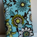 Covered Notepad - Blue Flowers