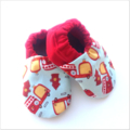Fire Engine Baby Shoes