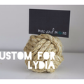 custom for lydia