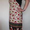 Christmas apron, adjustable OSFA