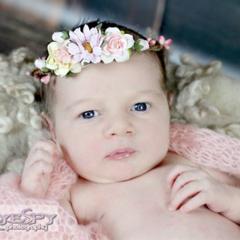 Gabby flower crown by Vintage fairy