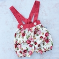 Rosie suspender shorts sz 00