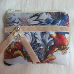 Diamonte Wildflower Coin Purse