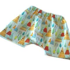 Boho Tee Pee Harem Shorts  Last Pair!!