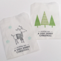 Christmas Lolly Bags - Pack of 20