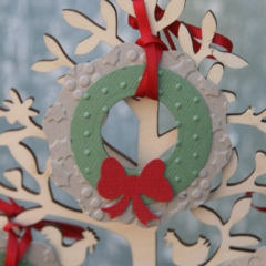 3 Mini Wreath Fit for a Fairy's front door ~