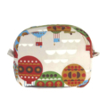 Hot Air Balloon Makeup Zipper Pouch // Toiletry Bag
