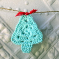 Crochet Christmas Bunting