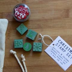 CHRISTMAS Stamp Set  - Set of 5