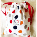 Dotty Gift Bag / Toy Bag