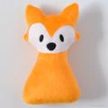 Free Postage Soft Fox Rattle Orange