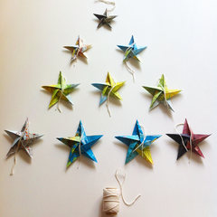 Origami Christmas Stars (10pack)