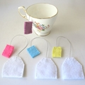 Pretend Food Tea Bags Ready To Post