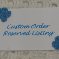 CUSTOM ORDER - Reserved for Emily