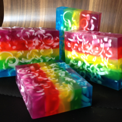 Stairway to Heaven - Rainbow Soap with Argan Oil, shea butter