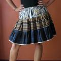 Elastic waisted twirl skirt