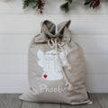 Large Personalised Santa Sack -  Angel