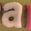 Name Banners, Custom Fabric Name 9 Bunting, Personalized Child's Baby Wall Art