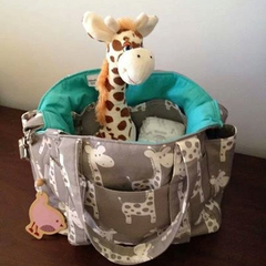 Giraffe Nappy Bag New Large Sizer XL Diaper Bag