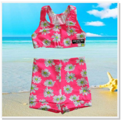 CLEARANCE... SIZE 2 Daisy 2 piece swim Set - FREE POST