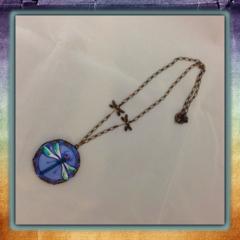 Czech Glass Dragonfly Necklace