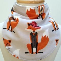 Bandana Dribble Bib - Dapper Foxes