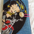 Travelling Tea Bag Wallets - Betty Boop. Thank you Gifts, Teacher Gifts.
