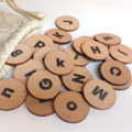 Wooden Alphabet - Learn your ABC's