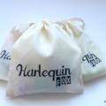 Harlequin Fox Calico Gift Bag