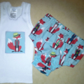 Mr Fox Nappy Pants &